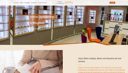 Nouveau site WEB • Optique Croix Blanche